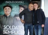 Foto/IPP/Gioia Botteghi 25/03/2015 Roma presentata del film SOLDATO SEMPLICE, nella foto Paolo Cevoli con Antonio Orefice
