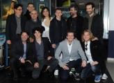 Foto/IPP/Gioia Botteghi 25/03/2015 Roma presentata del film SOLDATO SEMPLICE, nella foto Paolo Cevoli con il cast
