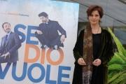 Foto/IPP/Gioia Botteghi 30/03/2015 Roma presentata del film Se Dio Vuole, nella foto: Laura Morante