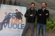Foto/IPP/Gioia Botteghi 30/03/2015 Roma presentata del film Se Dio Vuole, nella foto: Marco Giallini e Alessandro Gassman