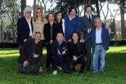 Foto/IPP/Gioia Botteghi 02/04/2015 Roma presentata del film UNO ANZI DUE, nella foto:  il cast con il regista Francesco Pavolini