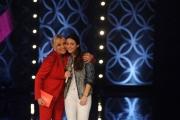 Foto/IPP/Gioia Botteghi 11/04/2015 Roma  prima puntata di SENZA PAROLE condotto da Antonella Clerici, nella foto con Ginevra la figlia di Francesco Nuti