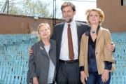 Foto/IPP/Gioia Botteghi 13/04/2015 Roma  presentazione del film MIA MADRE, nella foto: Nanni Moretti con Margherita Buy, Giulia Lazzarini