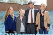 Foto/IPP/Gioia Botteghi 13/04/2015 Roma  presentazione del film MIA MADRE, nella foto: Nanni Moretti con Margherita Buy, Giulia Lazzarini, Beatrice Mancini