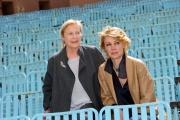 Foto/IPP/Gioia Botteghi 13/04/2015 Roma  presentazione del film MIA MADRE, nella foto:  Margherita Buy, Giulia Lazzarini