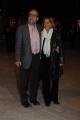 Foto/IPP/Gioia Botteghi 14/04/2015 Roma  serata di gala per la presentazione del film I BAMBINI SANNO, nella foto: Giobbe Covatta e signora