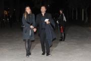 Foto/IPP/Gioia Botteghi 14/04/2015 Roma  serata di gala per la presentazione del film I BAMBINI SANNO, nella foto: Max Giusti e moglie