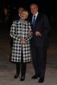 Foto/IPP/Gioia Botteghi 14/04/2015 Roma  serata di gala per la presentazione del film I BAMBINI SANNO, nella foto: Pietro Grasso e moglie