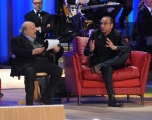 Foto/IPP/Gioia Botteghi 19/04/2015 Roma  seconda puntata del Maurizio Costanzo Show, nella foto:  Carlo Conti