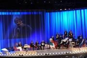 Foto/IPP/Gioia Botteghi 19/04/2015 Roma  seconda puntata del Maurizio Costanzo Show, nella foto:  tutti gli ospiti fiorello in video