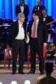 Foto/IPP/Gioia Botteghi 19/04/2015 Roma  seconda puntata del Maurizio Costanzo Show, nella foto: Carlo Brenner Sgarbi e Vittorio Sgarbi