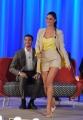 Foto/IPP/Gioia Botteghi 19/04/2015 Roma  seconda puntata del Maurizio Costanzo Show, nella foto: Belen Rodriguez