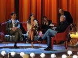 Foto/IPP/Gioia Botteghi 19/04/2015 Roma  seconda puntata del Maurizio Costanzo Show, nella foto: Belen Rodriguez, Stefano De Martino, Alfonso Signorini