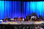 Foto/IPP/Gioia Botteghi 03/05/2015 Roma  quarta puntata del Maurizio Costanzo Show , nella foto: tutti gli ospiti