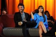 Foto/IPP/Gioia Botteghi 03/05/2015 Roma  quarta puntata del Maurizio Costanzo Show , nella foto:  Nek  con la figlia Martina  Marisio Neviani