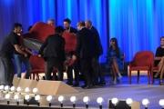 Foto/IPP/Gioia Botteghi 03/05/2015 Roma  quarta puntata del Maurizio Costanzo Show , nella foto: facchioni per caso,  Nek, Verdone, Scanzi Rutelli, Signorini