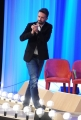Foto/IPP/Gioia Botteghi 03/05/2015 Roma  quarta puntata del Maurizio Costanzo Show , nella foto:  Andrea Scanzi