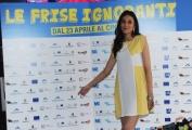 Foto/IPP/Gioia Botteghi 20/04/2015 Roma  presentazione del film LE FRISE IGNORANTI, nella foto: Federica Sarno