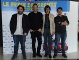 Foto/IPP/Gioia Botteghi 20/04/2015 Roma  presentazione del film LE FRISE IGNORANTI, nella foto:  Nicola Nocella, William Volpicella, Giorgio Gallo, Davide Donatiello