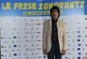 Foto/IPP/Gioia Botteghi 20/04/2015 Roma  presentazione del film LE FRISE IGNORANTI, nella foto:  Davide Donatiello