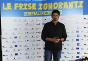 Foto/IPP/Gioia Botteghi 20/04/2015 Roma  presentazione del film LE FRISE IGNORANTI, nella foto: William Volpicella