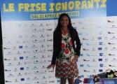 Foto/IPP/Gioia Botteghi 20/04/2015 Roma  presentazione del film LE FRISE IGNORANTI, nella foto:  Rosanna Sparapano