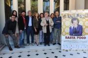 Foto/IPP/Gioia Botteghi 21/04/2015 Roma  presentazione del film BASTA POCO, nella foto:  il cast
