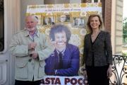 Foto/IPP/Gioia Botteghi 21/04/2015 Roma  presentazione del film BASTA POCO, nella foto:  Marco Messeri, Daniela Poggi