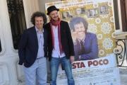 Foto/IPP/Gioia Botteghi 21/04/2015 Roma  presentazione del film BASTA POCO, nella foto: Andrea Muzzi  Massimiliano Galligani
