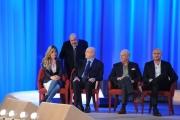 Foto/IPP/Gioia Botteghi 26/04/2015 Roma   terza puntata del Maurizio Costanzo Show, nella foto: Maria Elena Fabi, Aldo Cazzullo, Rudy Zerbi, Davide Mengacci