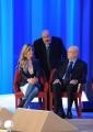 Foto/IPP/Gioia Botteghi 26/04/2015 Roma   terza puntata del Maurizio Costanzo Show, nella foto: Maria Elena Fabi, Aldo Cazzullo