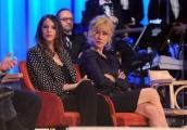 Foto/IPP/Gioia Botteghi 26/04/2015 Roma   terza puntata del Maurizio Costanzo Show, nella foto: Carolina Castagna e Nancy Brilli