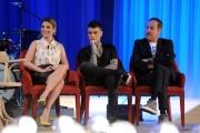 Foto/IPP/Gioia Botteghi 26/04/2015 Roma   terza puntata del Maurizio Costanzo Show, nella foto: Emma, Fedez, Massimo Lopez