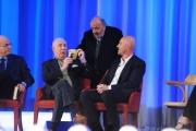 Foto/IPP/Gioia Botteghi 26/04/2015 Roma   terza puntata del Maurizio Costanzo Show, nella foto: Rudy Zerbi, Davide Mengacci