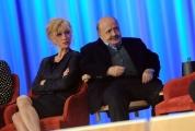 Foto/IPP/Gioia Botteghi 26/04/2015 Roma   terza puntata del Maurizio Costanzo Show, nella foto: Costanzo, Brilli
