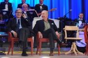 Foto/IPP/Gioia Botteghi 26/04/2015 Roma   terza puntata del Maurizio Costanzo Show, nella foto: Vittorio Sgarbi, Davide Mengacci