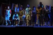 Foto/IPP/Gioia Botteghi 29/04/2015 Roma  Presentazione al teatro Sistina della versione italiana di Billy Elliot, nella foto il cast