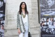 Foto/IPP/Gioia Botteghi 05/05/2015 Roma  presentazione del film NOMI E COGNOMI, nella foto:  Maria Grazia Cucinotta