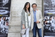 Foto/IPP/Gioia Botteghi 05/05/2015 Roma  presentazione del film NOMI E COGNOMI, nella foto:  Enrico Lo Verso, Maria Grazia Cucinotta