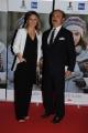 Foto/IPP/Gioia Botteghi 06/05/2015 Roma   red carpet per la serata di presentazione del film rai JE SUIS ILAN, nella foto: Ingrid Muccitelli,  Mauro Mazza