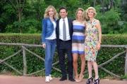 Foto/IPP/Gioia Botteghi 20/05/2015 Roma uno mattina estate, nella foto Alessio Zucchini e Mia Ceran, Livia Azzariti , Antonia Varini
