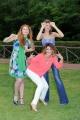 Foto/IPP/Gioia Botteghi 20/05/2015 Roma uno mattina estate, inviate, nella foto Metis Di Meo, Samanta Togni, Claudia Andreatti