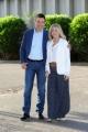 Foto/IPP/Gioia Botteghi 21/05/2015 Roma Fabrizio Frizzi e Rita Dalla Chiesa prenentano il nuovo programma che andrà in onda a partire da giugno su rai uno LA POSTA DEL CUORE