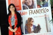 Foto/IPP/Gioia Botteghi 23/06/2015 Roma presentazione del film NOI SIAMO FRANCESCO, nella foto: la regista Guendalina Zampagni