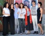Foto/IPP/Gioia Botteghi 23/06/2015 Roma presentazione del film NOI SIAMO FRANCESCO, nella foto: la regista Guendalina Zampagni con il cast