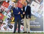 Foto/IPP/Gioia Botteghi 30/06/2015 Roma 20 anni di MEDUSA, nella foto: Giampaolo Letta e Carlo Rossella