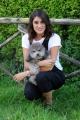 Foto/IPP/Gioia Botteghi 02/09/2015 Roma uno mattina i conduttori, nella foto: Elisa Isoardi con il suo cane Zeus