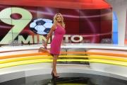 Foto/IPP/Gioia Botteghi 08/09/2015 Roma presentazione  della nuova edizione di novantesimo minuto, nella foto: Paola Ferrari