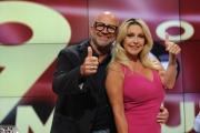 Foto/IPP/Gioia Botteghi 08/09/2015 Roma presentazione  della nuova edizione di novantesimo minuto, nella foto: Paola Ferrari e  Marco Mazzocchi