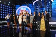 Foto/IPP/Gioia Botteghi 09/09/2015 Roma presentazione alla stampa del programma Tale e quale show, nella foto: Carlo Conti con tutti i concorrenti